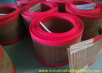중국 PTFE polyester mesh fabric , PTFE polyester mesh fabric for conveyor belt / griddling cloth, made by PTFE coated 협력 업체
